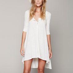 Hot Sale  Women Loose Asymmetric Long T Shirt Dress Cotton Boho Summer Style 3/4 Sleeve High Low Dress Plus Size Vestidos