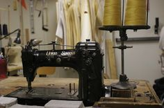 Union Special 43200G (circa 1920's)    Built for denim chain stitching & hemming