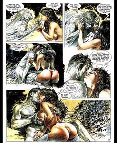 Druuna Mandragore by Paolo Eleuteri Serpieri Comics In English, Serpieri, Science Fiction Series, Hot Stories, Metal Magazine, Garage Art, Female Images, Erotic Art, Heavy Metal