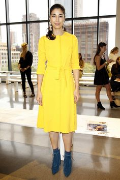 Caroline Issa - Altuzarra Spring 2016 Ready-to-Wear Fashion Show Front Row - September 12, 2015