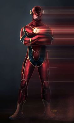 This is my concept for a cinematic version of the DC comics character The Flash. The Flash Heros Comics, Dc Comics Characters, Dc Comics Art, Comic Book Heroes, Marvel Dc Comics, Marvel Heroes, Comic Villains, The Flash Comic, Flash Comics