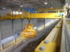 Installation Cement Warta in Poland. GH Cranes & Components