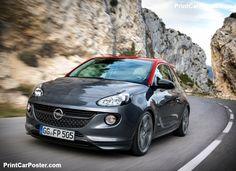 Opel Adam S 2015 poster, #poster, #mousepad, #tshirt, #printcarposter
