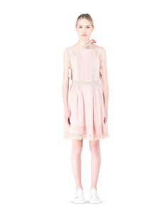 Are you looking for REDValentino Women Cotton Voile And Macramé Dress? Discover all the details at the official store and shop online: fast delivery and secure payments.