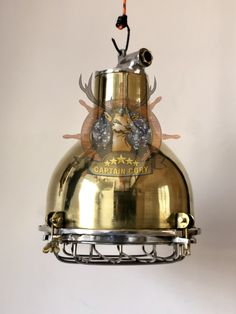 Antique Nautical Seafaring Brass Marine Boat Ship Pendant/Hanging/Ceiling Light Nautical Lighting, Hanging Ceiling Lights, Brass Pendant Light, Marine Boat, Seafarer, Hanging Pendants, This Or That Questions, Antiques, Ebay