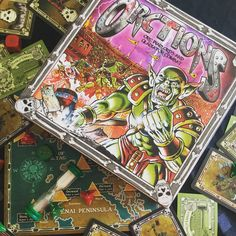 Isn't it 'orcrageous' that I've not had time to learn Orctions yet?  I feel quite orcward about it... I should take the time to learn this orcsome game! -Chessie  #boardgames #BoardGameGeek #Orctions #orcs #quirkative #puns #badpuns #orcsome