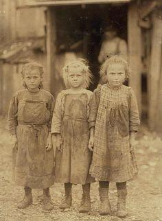 flashofgod:  Lewis Hine, Lewis, Oyster Shuckers, Port Royal, South Carolina, 1911.