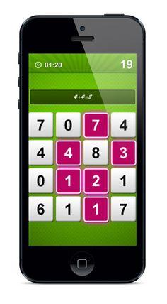 Pluz, una juego similar a apalabrados pero con números | iPad Books