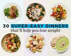 You'll be counting down the minutes 'til you can make these healthy dinner recipes!