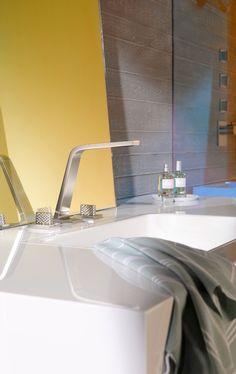 Mit Armaturen kannst du wunderbare Akzente in deinem Bad setzen. Lass dich überraschen von den Ideen auf www.wohn-dir-was.de  Bildmaterial: (c) Dornbracht