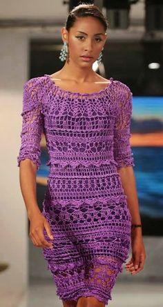 Crochetemoda: июль 2014