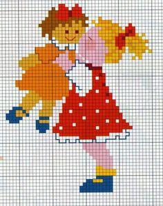 Small Cross Stitch, Cross Stitch Designs, Cross Stitch Patterns, Knitted Jackets Women, Stitch Doll, Christmas Cross, Knitting Patterns Free, Pixel Art, Embroidery Stitches