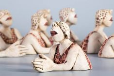Ans Vink – zwemmer / sculptures figuratives (Pays-bas)