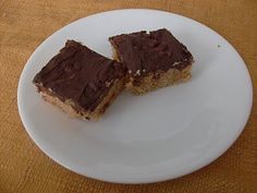 Chocolate-Frosted Peanut Butter Rice Krispie Treats