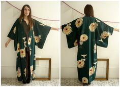 Vintage Japanese Floral & Butterfly Hand Painted by 5678Vintage