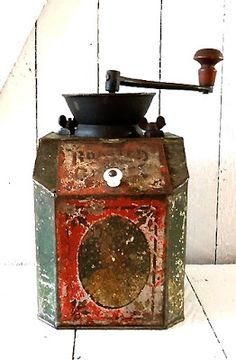Vintage Antique Coffee Mills