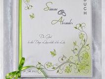 Gästebuch Hochzeit,Maigrün,Hochzeit,Gästebücher,47