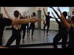 (12) Modern Dance Intermediate:Advance - YouTube
