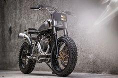 '05 Honda XR400R – Benjie's Café Racers - Pin by Corb Motorcycles