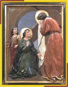 Jesús y la Verónica