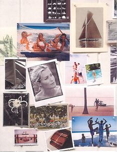 Our story board by India Hicks