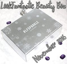 LookFantastic Beauty Box November 2016 contents, review, unboxing.