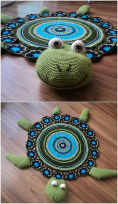Crochet Turtle Rug Free Pattern Lots Of Cute Ideas You will love this Crochet Turtle Rug Free Pattern and we have lots of inspiration to help you get the perfect look. Crochet Snail, Crochet Animals, Crochet Crafts, Yarn Crafts, Crochet Flowers, Crochet Toys, Crochet Baby, Crochet Projects, Free Crochet