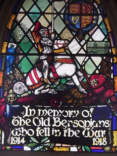 St George and the Dragon window | Flickr - Photo Sharing!