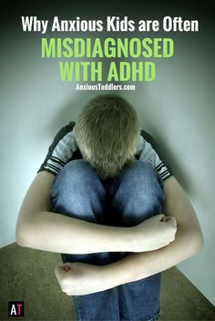 Sometimes anxious kids don't look anxious. Sometimes they look hyper and unfocused. Unfortunately it is common for these kids to be misdiagnosed with ADHD.