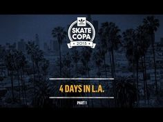 Adidas Skate Copa 2015 - 4 Days In LA | Part 1 - http://DAILYSKATETUBE.COM/adidas-skate-copa-2015-4-days-in-la-part-1/ - Ten shop teams from all over the world came out to LA for 4 days for the Skate Copa Global Finals. Some of the guys had never stepped foot on American soil, let alone gotten to experience what the skate scene is like in Los Angeles. To say they took full advantage of being in the skateboarding - 2015, adidas, copa, days, part, skate