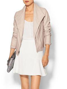 Vince - Off White Leather - Suba Jacket