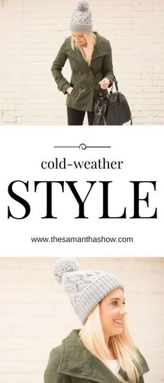 Cold-weather style with Rella; cold weather is just around the corner so why not…