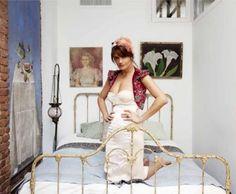 Helena Christensen's bedroom