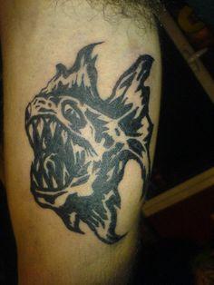 Piranha tattoo