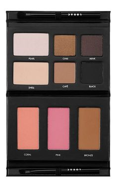 Eyeshadow and blush all in one palette!