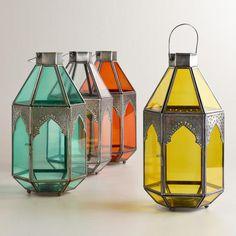Antigua Tabletop Lanterns, Sets of 2