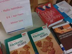 Poistokirjat Hyvinkään Laurea-kirjastossa helmikuussa ILMAISIA!