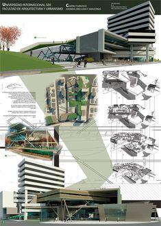 Lamina De Representacion Arquitectura Google Search Sketches