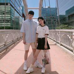 Siwoo and Do Hana A-teen webdrama Korean Celebrities, Hollywood Celebrities, Korean Actors, Ulzzang Couple, Ulzzang Girl, Drama Korea, Korean Drama, Korean Couple, Korean Girl