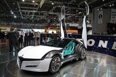 Futuristic Car, Alfa Romeo Pandion