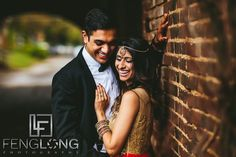 Radhika & Kishan | Goat Farm Piedmont Park | Atlanta Indian Engagement Session