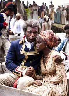 Jimmy Jean-Louis & Aïssa Maïga in 'Toussaint Louverture' (2012).