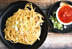 Garlic Noodles from the Burma Superstar Cookbook are easy to make, use mostly common pantry ingredients, and are pretty much guaranteed to blow your mind with flavor.