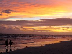 Fort Myers Beach Sunset After Storm