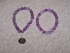 Amethyst Bracelet Healing Bracelet Anger by AprilsHandmadeJewels