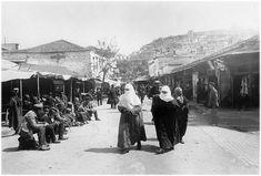 Καβαλα.Οδος Ελ.Βενιζελου.1910 Greece Pictures, Athens, Street View, Guys, Painting, Painting Art, Paintings, Sons, Painted Canvas