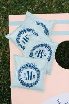 Southern Etiquette: Monograms - Southern Weddings - Loverly
