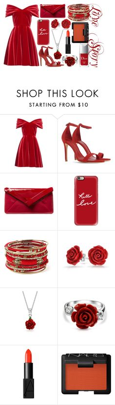 """""""Love Story"""" by the-fashiondesigner ❤ liked on Polyvore featuring Emilio De La Morena, Schutz, L.K.Bennett, Casetify, Amrita Singh, Bling Jewelry, NARS Cosmetics and Christian Dior"""