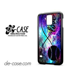 Infinity Love Softball Sports DEAL-5610 Samsung Phonecase Cover For Samsung Galaxy S5 / S5 Mini