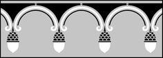 Gothic stencil